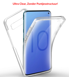 Galaxy S10 360° Ultra Clear Hybrid PC + TPU Hoesje