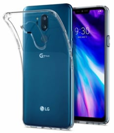 LG G7 ThinQ Premium Soft TPU Hoesje Transparant