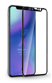 iPhone Xs Max Full Cover 3D Tempered Glass Screen Protector