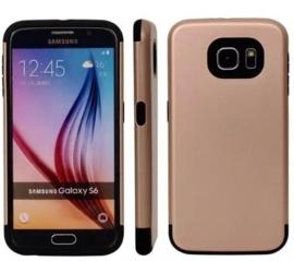 Galaxy S6 Dual Layer Hybrid Armor Hoesje