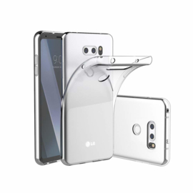LG V30 Premium Soft TPU Hoesje Transparant