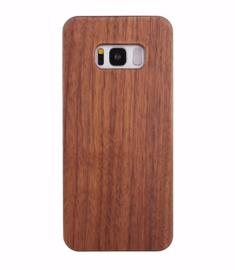 Galaxy S8 Plus Echt Houten Hoesje - Wood Case - 2 Houtsoorten