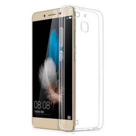 Huawei P9 Soft TPU Hoesje Transparant
