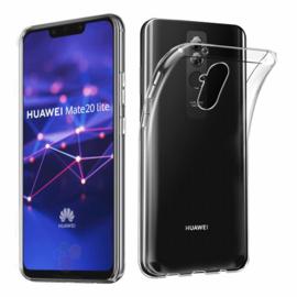 Huawei Mate 20 Lite Premium Transparant Soft TPU Hoesje