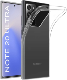 Galaxy Note 20 Ultra Premium Transparant Soft TPU Hoesje