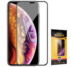 iPhone 11 Pro Max Full Cover Full Glue Tempered Glass Protector