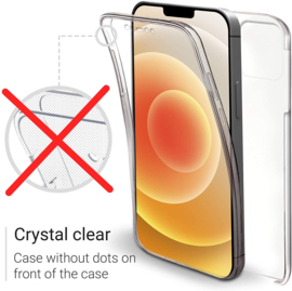 iPhone 12 Pro Max 360° Ultra Clear Hybrid PC + TPU Hoesje