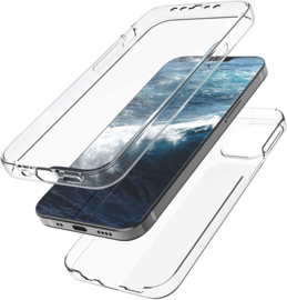 iPhone 12 / 12 Pro 360° Full Cover Transparant TPU Hoesje
