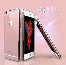 iPhone 6 / 6S Bling Hoesje Met Bergkristallen Strass-Steentjes