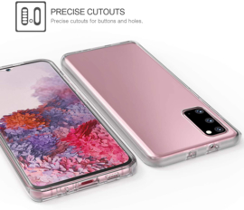 Galaxy S20 360° Ultra Clear Hybrid PC + TPU Hoesje