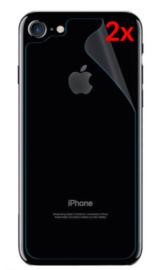 2 STUKS iPhone 7 / 8 / SE 2020 Transparant Folie Achterkant Protector