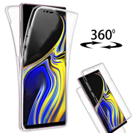 Galaxy Note 9 360° Full Cover Transparant TPU Hoesje