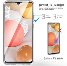Galaxy A42 360° Ultra Clear Hybrid PC + TPU Hoesje