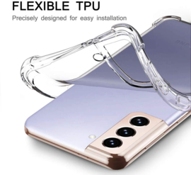 Galaxy S21 Transparant Soft TPU Air Cushion Hoesje