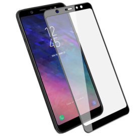 Galaxy A6 Plus (2018) Full Cover Full Glue Tempered Glass Protector