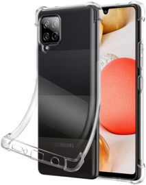 Galaxy A42 Transparant Soft TPU Air Cushion Hoesje