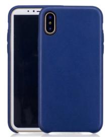 iPhone Xs Max Leren Back Cover Hoesje 5 Kleuren