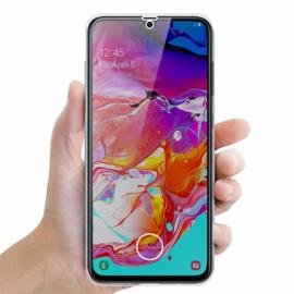 Galaxy A70 360° Full Cover Transparant TPU Hoesje