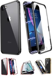 iPhone 7 / 8 / SE 2020 360º Magnetisch Hoesje Dubbelzijdig Glas