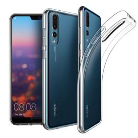 Huawei P20 Pro Premium Transparant Soft TPU Hoesje