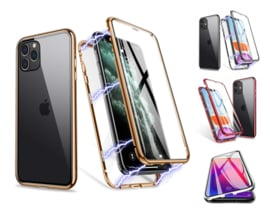 iPhone 11 Pro Max 360º Magnetisch Hoesje Dubbelzijdig Glas