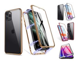 iPhone 11 Pro 360º Magnetisch Hoesje Dubbelzijdig Glas