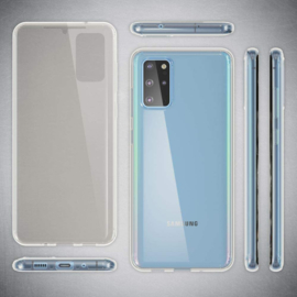 Galaxy S20 Plus 360° Full Cover Transparant TPU Hoesje