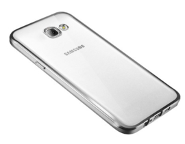 Galaxy A5 (2016) Soft TPU Hoesje Met Coating Goud / Zilver / Grijs
