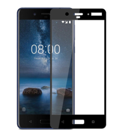 Nokia 8 Full Cover Full Glue Tempered Glass Protector