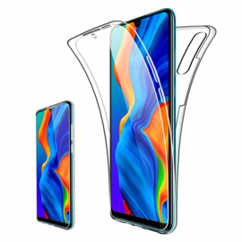 Huawei P30 Lite 360° Full Cover Transparant TPU Hoesje