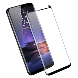 Galaxy S9 Plus Case Friendly 3D Curved Tempered Glass Screen Protector