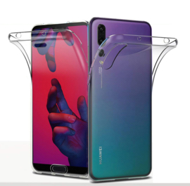 Huawei P20 Pro 360° Full Cover Transparant TPU Hoesje