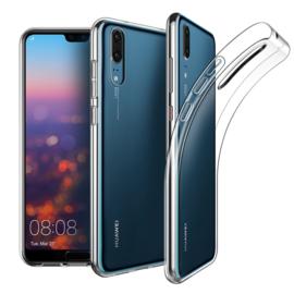 Huawei P20 Premium Transparant Soft TPU Hoesje