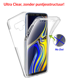Galaxy Note 9 360° Ultra Clear Hybrid PC + TPU Hoesje