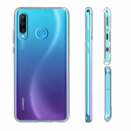 Huawei P30 Lite Premium Transparant Soft TPU Hoesje