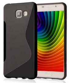 Galaxy A3 (2016) S-Line TPU Hoesje Transparant / Kleur