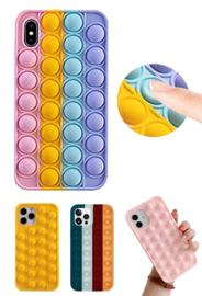 iPhone X / Xs Pop It Fidget Toy Hoesje Soft TPU