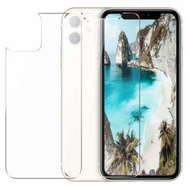 iPhone 11 Front + Back Tempered Glass Protector