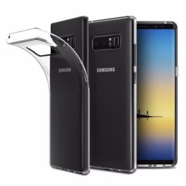 Galaxy Note 8 Soft TPU Hoesje Transparant