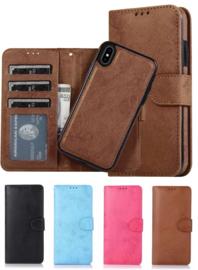 iPhone X / Xs Uitneembaar Magnetisch Bookcase Hoesje