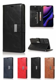 iPhone 11 Pro Rich Diary Premium Portemonnee Hoesje