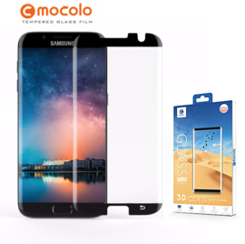 S7 Edge Mocolo Premium 3D Case Friendly Tempered Glass Protector