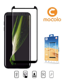 Galaxy S8 Mocolo Premium 3D Case Friendly Tempered Glass Protector