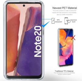 Galaxy Note 20 360° Ultra Clear Hybrid PC + TPU Hoesje