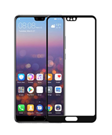 Huawei P20 Full Cover Full Glue Tempered Glass Protector