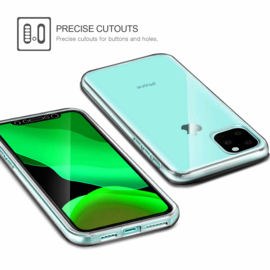 iPhone 11 360° Ultra Clear Hybrid PC + TPU Hoesje