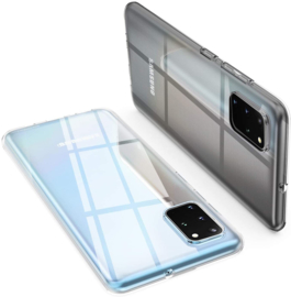 Galaxy S20 Plus Premium Transparant Soft TPU Hoesje