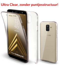 Galaxy A6 (2018) 360° Ultra Clear Hybrid PC + TPU Hoesje