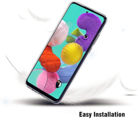 Galaxy A51 Premium Transparant Soft TPU Hoesje