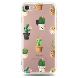 iPhone 7 / 8 Soft TPU Hoesje Cactus Print